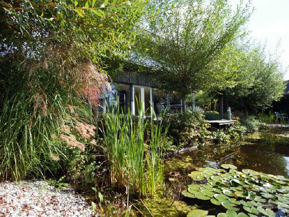 Huis en tuin in harmonie
