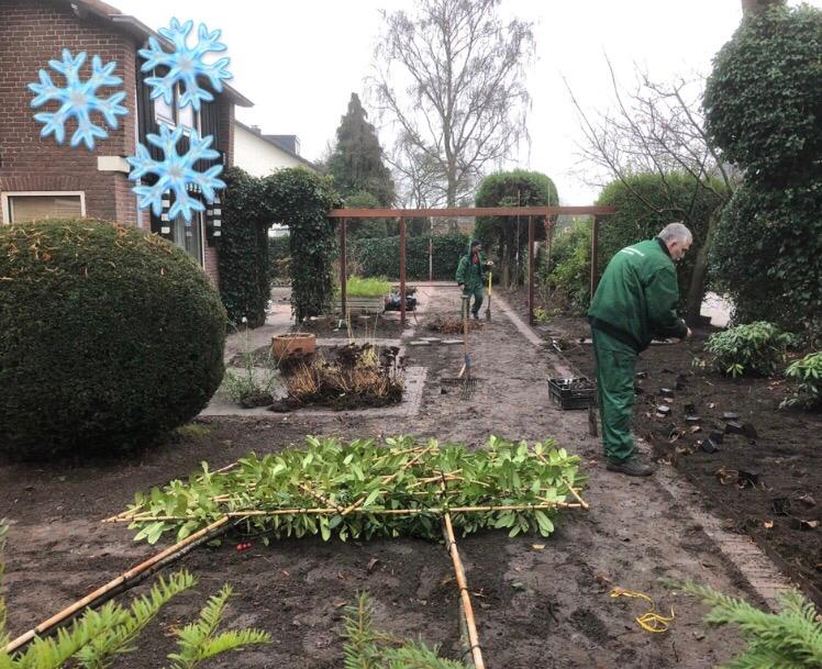 Uw tuin reorganiseren in de winter! Yay or nay?!