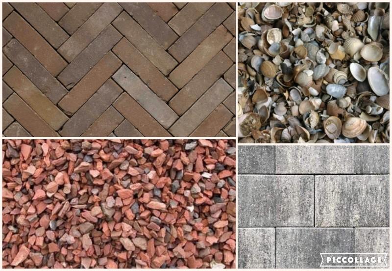 Keuzemogelijkheden materialen