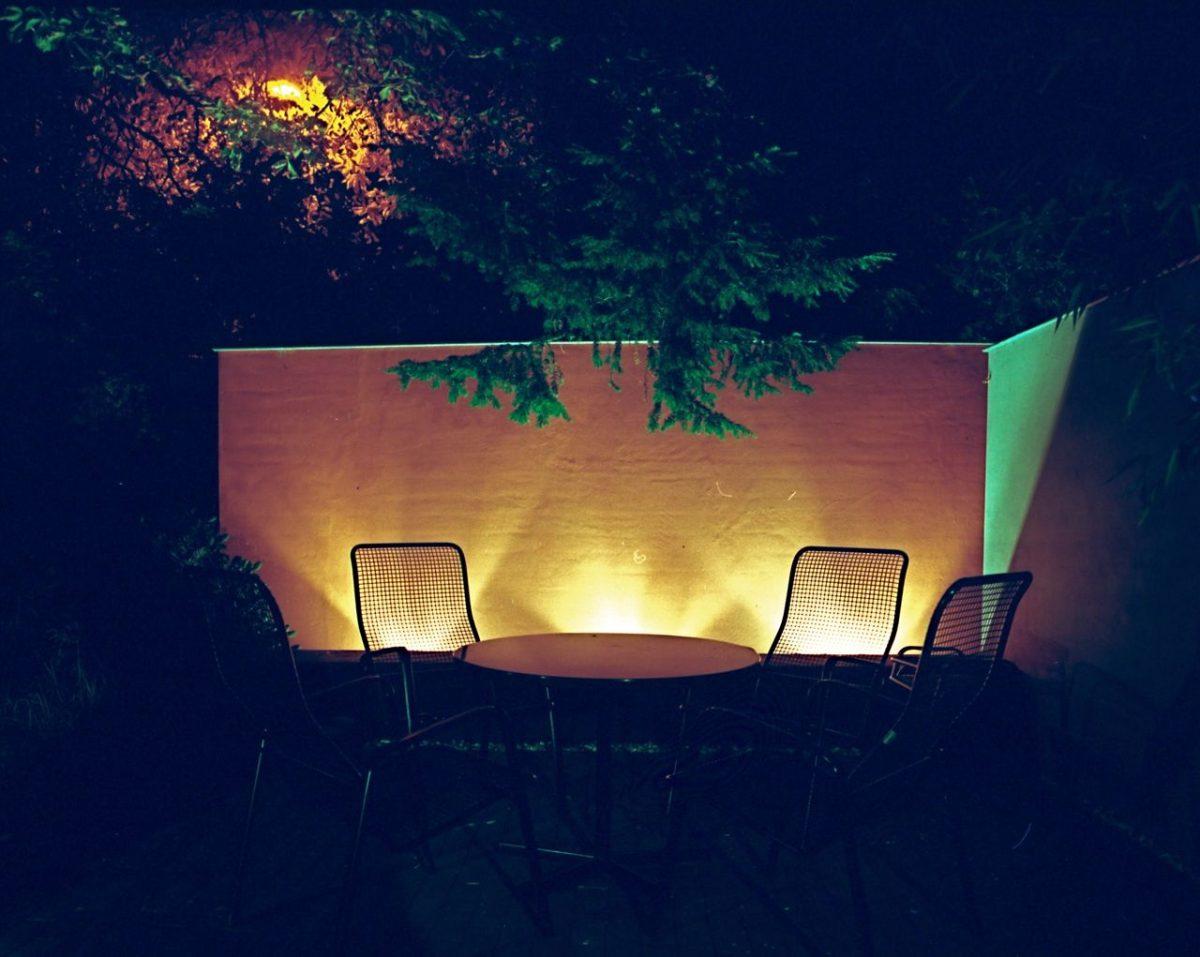Ook 's avonds genieten in de tuin